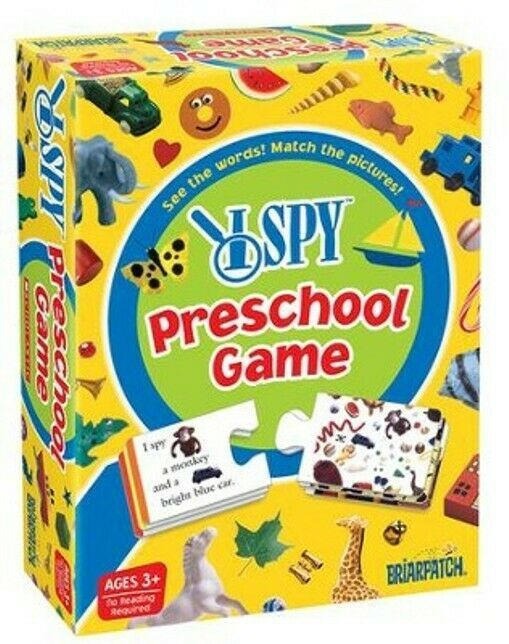 Primary image for New I Spy Preschool Game Scholastic Ages 3-6 No Reading Required 2009 Briarpatch