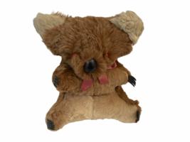 "Vtg Genuine Fur Stuffed Made Australia Australian Koala Bear 11"" Plush Joey Cub image 6"