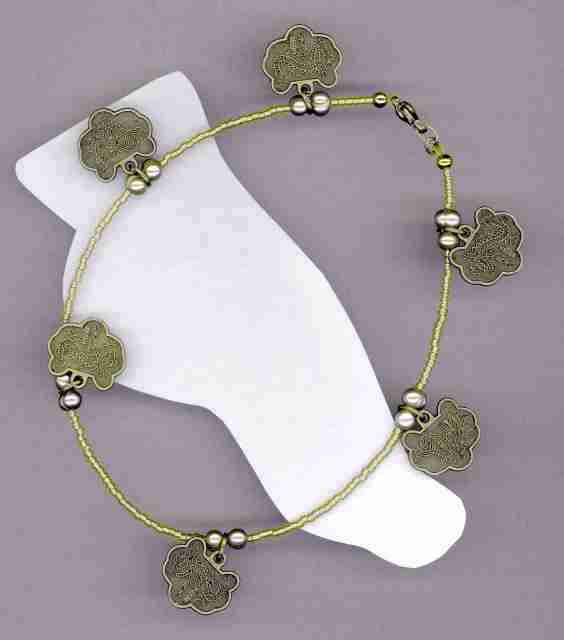 Trendy Anklet, #7-9Sc-08, Free Ship