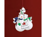 Lenox 2008 our first christmas snow couple ornament tag thumb155 crop