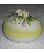 Lefton China Easter Egg covered Dish.  In time for the seaso - $15.00