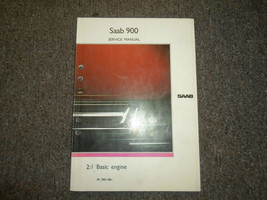 1981 83 87 1988 Saab 2:1 Basic Engine Service Repair Shop Manual FACTORY... - $26.30