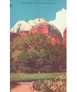 Castle Dome, Zion National Park, Utah, unused Postcard  - $4.99