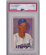 1951 Bowman Clyde King #299 PSA 6 P609 - $41.48