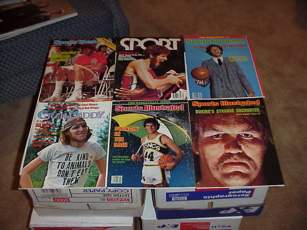 Sports Illustrated Magazine , 1970s 1980s 1990s , 100 Issues