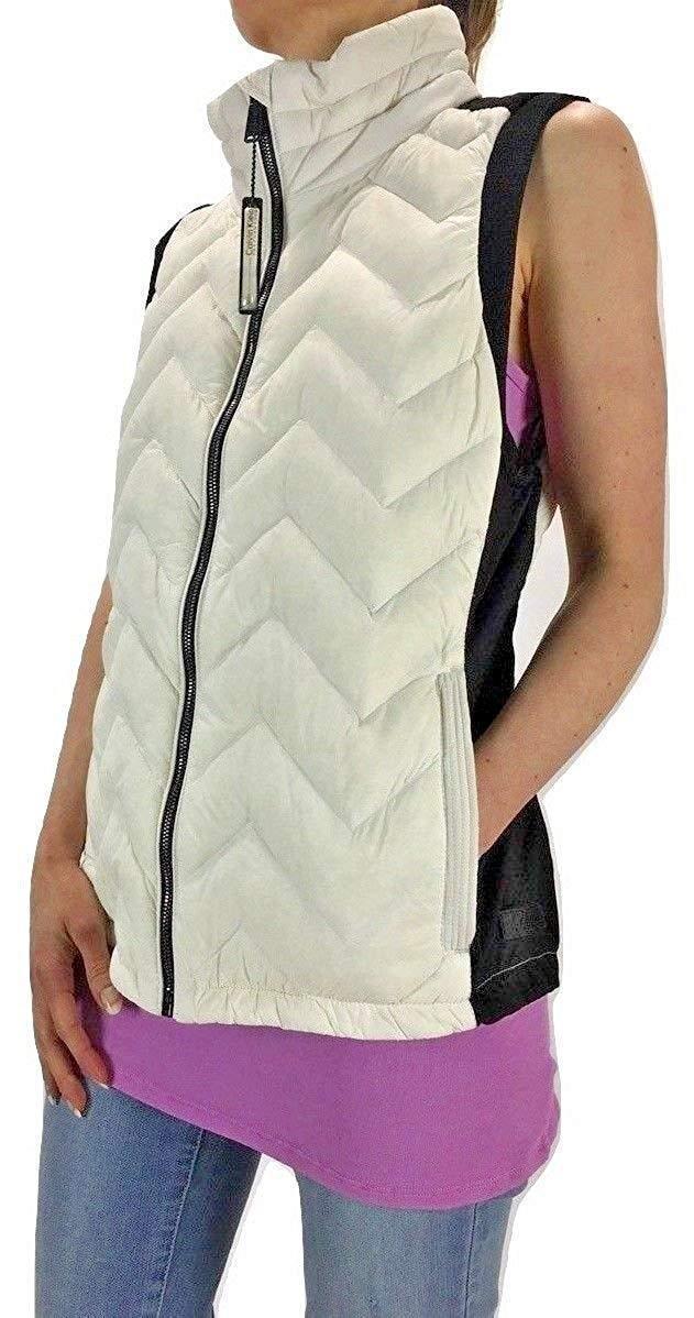 Calvin Klein Performance Women's Quilted Vest Cloud, S 7183-3