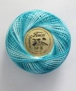 Presencia Finca Perle Pearl Cotton Size 8 Variegated - $2.78
