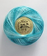 Presencia Finca Perle Pearl Cotton Size 8 Variegated - $3.67 CAD
