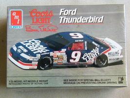 FACTORY SEALED Bill Elliott #9 Coors Light Ford Thunderbird by AMT/Ertl ... - $11.99