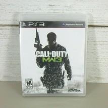 Call of Duty: Modern Warfare 3 (Sony PlayStation 3, 2011) Complete PS3 COD MW3 - $8.96