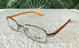 NWOT Ray-Ban Jr Silver & Pink Eyeglasses Frames Model RB 1037 4022 / 45-... - $32.14