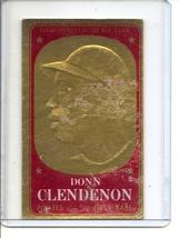 (B-2) 1965 Topps Embossed #9: Donn Clendenon - damaged - $1.00