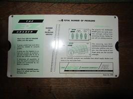 1971 Perrygraf The E-Z Grader Teacher Slide Grader-2 Sided - $10.00