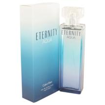 Calvin Klein Eternity Aqua 3.4 Oz Eau De Parfum Spray image 1