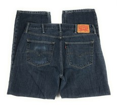 Levi's Men's 559 Relaxed Fit Straight Leg 100% Cotton Red Tab Blue Jeans... - $22.76