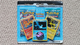 PLASMA FREEZE/STORM/DESTINIES Blister Pokemon Booster Pack Moltres Articuno - $27.99