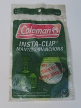 Coleman #21A104 Insta-clip Mantles Manchons 4-Pack New Old Stock - $10.69