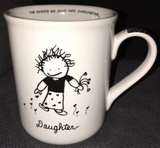Papel White Black Children Of The Inner Light Daughter Lg Coffee Cup Mug... - $9.89