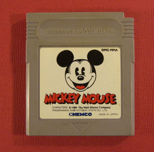 Mickey Mouse (Nintendo Game Boy GB, 1989) Japan Import - $7.58