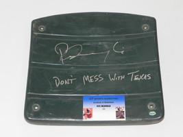 PETE INCAVIGLIA autographed  Ball Park at Arlington Seat bottom GTSM COA - $54.82