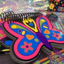 Lisa Frank Dream Writers Lot Ladybug Butterfly Sheets Notebooks Diary With Lock image 6