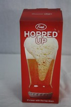 Fred Hopped Up Lager It's Beer With The Top Down Glass - $9.49