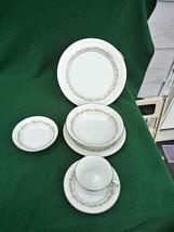 "Vintage Noritake China (6)6 Piece Place Setting ""Trilby"" Pattern (36) To... - $178.15"