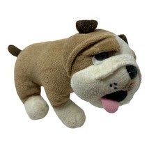 "Mascot Factory Plush Bulldog Puppy Dog 8"" long Adorable Stuffed Animal Toy - $12.99"