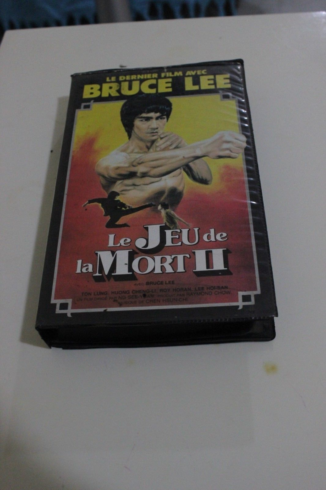Primary image for Bruce Lee MOVIE EXTREME RARE vhs PAL FRENCH VERY HARD TO FIND