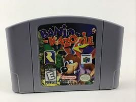 Nintendo 64 Banjo-Kazooie Game Pak N64 Video Game Cartridge Vintage 1997 Rated E - $80.14