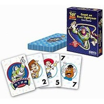 Count On Buzz Light Year Travel Card Game New Disney Gift Kid's Boys Girls - $9.74