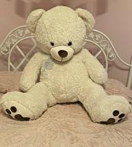 """Extra Large Plush Bear Stuffed Animal Giant Soft 36"""" x 37"""" x 16"""" Jumbo Size - $73.50"""