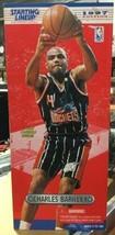 "1997 Charles Barkley 12"" Starting Lineup Action Figure Houston Rockets NBA - £37.43 GBP"