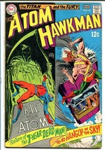THE ATOM & HAWKMAN #41 1969-Joe Kubert/Murphy Anderson VG - $25.22