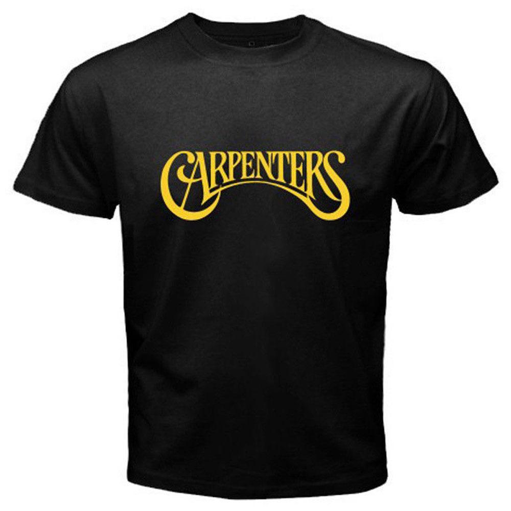 The Carpenters 1970's Pop Duo Legend Karen Richard Mens Black T-Shirt Size S-3XL for sale  USA