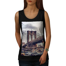 Brooklyn Bridge USA Tee New York Women Tank Top - $12.99