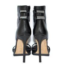 US 7 Camilla Sandals High Shoes Skovgaard Leather Heels Pumps 5 Stilettos Black 1q1BU4wH