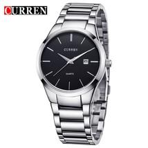 relogio masculino CURREN   Analog  Wristwatch Display Date Men's  Watch Business - $38.71