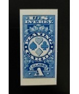 1918 Class A Playing Cards, U.S.A. Internal Revenue, RF11, Imperforate, ... - $49.99