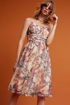 NWT ANTHROPOLOGIE MACKENZIE FLORAL DRESS by MAEVE 6, 8 - $69.99