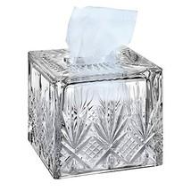 Godinger Dublin Crystal Tissue Box - $37.89