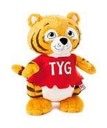 "Hallmark Shirt Tales Tyg Tiger Stuffed Animal, 14"" Classic Stuffed Anima... - $11.22"