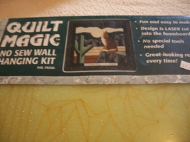 Quilt Magic Wall Hanging Foam Board: Comes with Pattern & Directions - $10.00