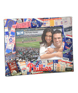 Philadelphia Phillies MLB Ticket Collage 4x6 frame photos cross stitch  - $12.00