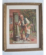 Vintage Print Framed - All Hands To The Pump - $15.00