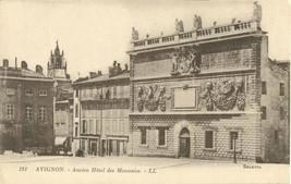 France, Avignon, Ancien Hotel des Monnaies, 1924 used Postcard CPA  - $4.99