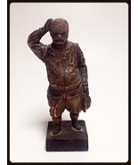 Ouro Artesania hand carved Sancho Panza statue made in Spain #702 - $30.00