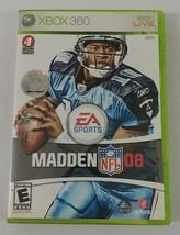 Madden NFL 08 Xbox 360 Game 2007 EA Sports - $6.79