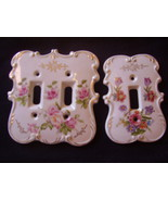 Light Switch Covers - Beautiful Floral - 1970's vintage - $50.00