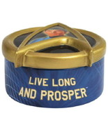 Star Trek Classic Mr. Spock Live Long & Prosper Resin Jewelry Trinket Bo... - $19.11